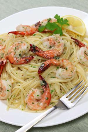 scampi: pasta with shrimp scampi