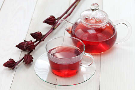 hibiscus tea photo