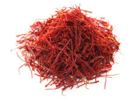 pile of saffron  Stock Photo