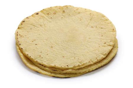 corn flour: homemade corn tortillas, mexican food Stock Photo
