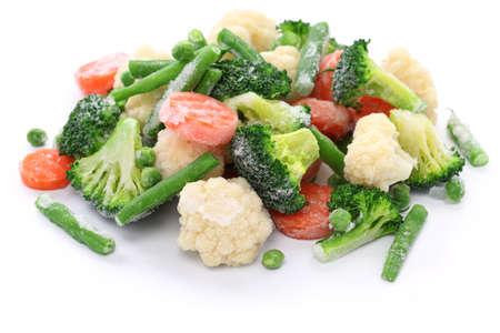 vegetable: homemade frozen vegetables