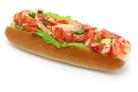 lobster roll sandwich, american food photo