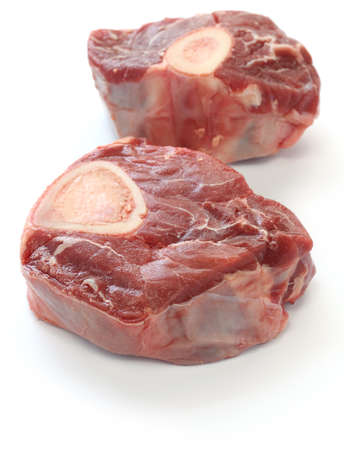 ossobuco, cross cut veal shank Stock Photo