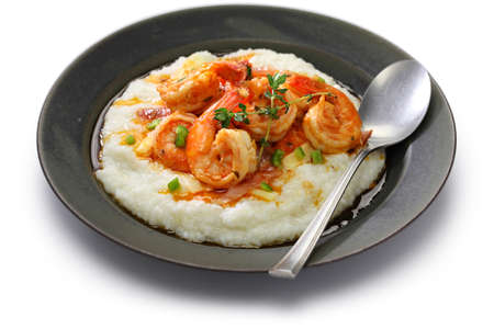 shrimp: shrimp and grits, cuisine of the southern united states