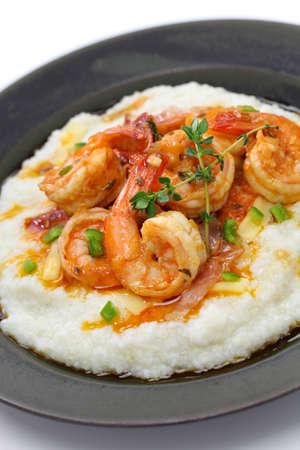 camaron: camarones y s�mola, la cocina de los estados unidos meridionales