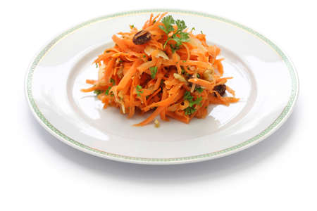 grated carrot salad photo