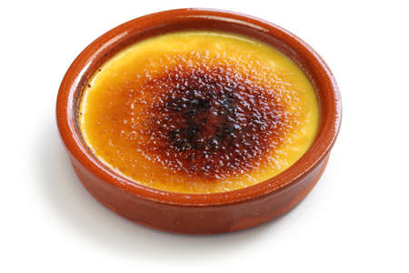 crema catalana, catalan cream, spanish dessert Stock fotó