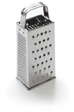 cheese grater isolated on white background Reklamní fotografie
