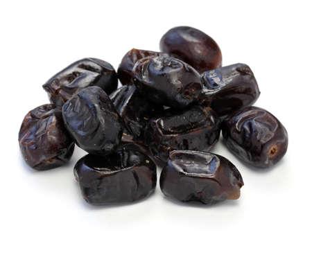 dates fruit: dates fruit isolated on white background