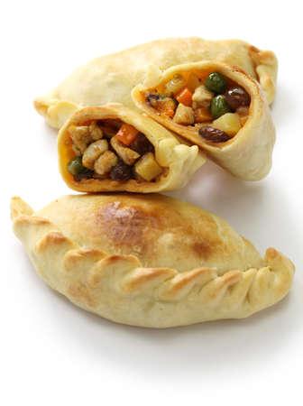empanadas de pollo, chicken empanada, argentina food photo