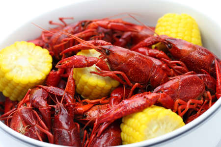 boiled: boiled crawfish, clayfish party