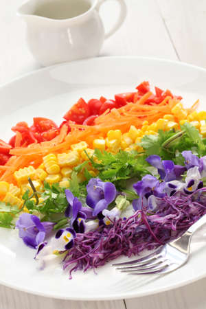 rainbow super salad photo