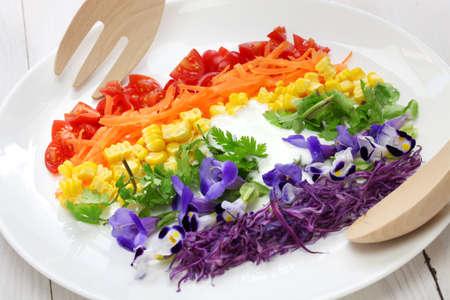 rainbow super salad photo