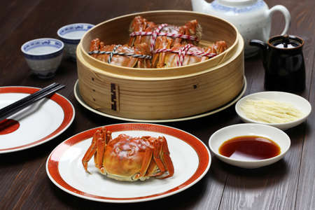 shanghai hairy crabs, chinese cuisine, autumn winter delicacy