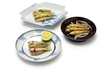 cypriniformes: honmoroko, willow gudgeon, japanese cuisine