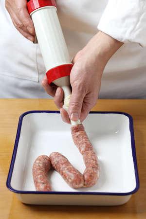 stuffer: sausage making
