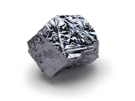 polycrystalline silicon, polysilicon isolated on white background