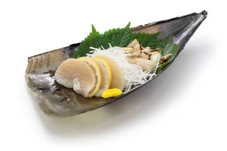tairagi pacific pen shel sashimi, japanese cuisine