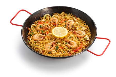 marisco: seafood pasta paella Stock Photo