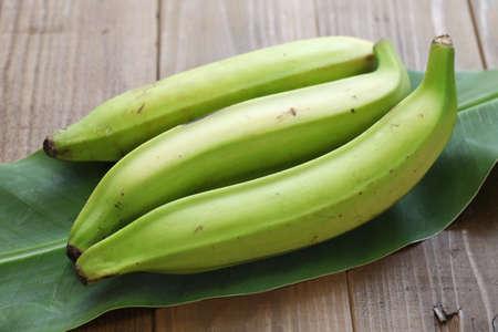 plantain banana Standard-Bild