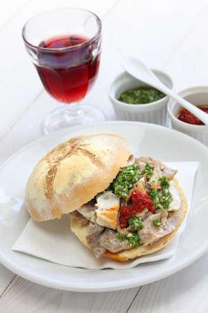 panino: s�ndwich lampredotto italiano panino alimentos di lampredotto