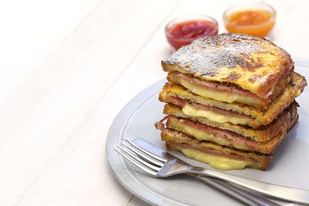monte cristo: Monte cristo sandwich, american food