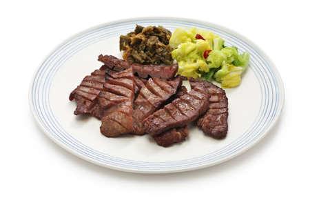 Grillés langue de b?uf, nourriture japonaise Banque d'images - 44626038