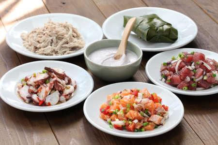 hawaiana: comida tradicional hawaiano