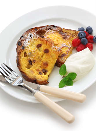 leftover: Panettone french toast, christmas leftover