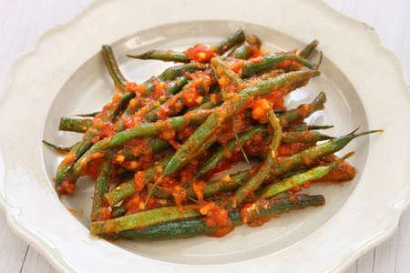 ejotes: estofado de judías verdes