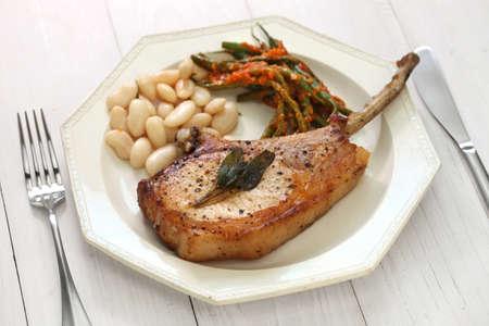 pork chops: pork chops