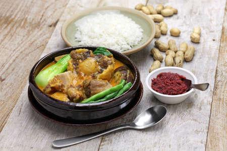 philippine: KARE kare filipino oxtail stew, philippine cuisine