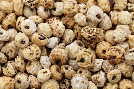 Тигровые орехи, испанский Chufa, суперпродуктов Фото со стока
