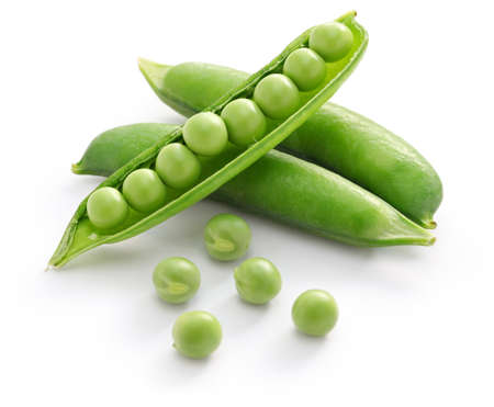 Guisantes verdes Foto de archivo - 53020891