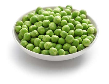judias verdes: guisantes verdes Foto de archivo