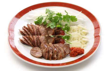 chang: homemade xiang chang, taiwanese sweet pork sausage