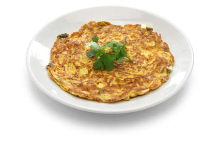 Taiwanese dried radish omelet, taiwanese cuisine