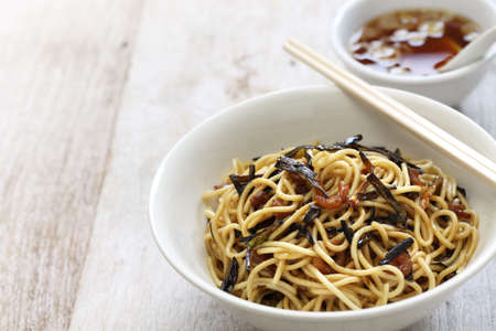 scallion: scallion oil noodles, Chinese Shanghai food