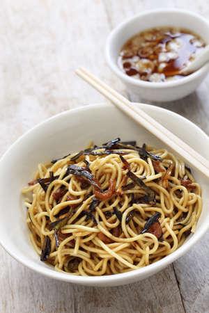 scallion: scallion oil noodles and Shanghai food Stock Photo