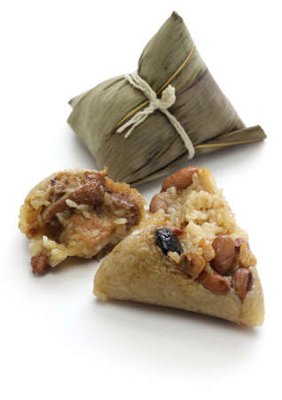 zongzi, the chinese rice dumpling, the dragon boat festival food