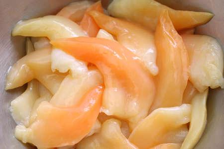 trough: Aoyagi, trough shell foot, japanese sushi food