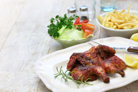 piri piri: spicy piri piri chicken, portuguese cuisine