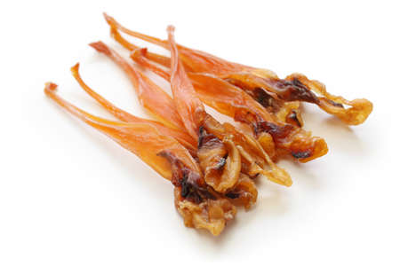 trough: himegai, japanese food delicacy, dried marine product of trough shell Stock Photo
