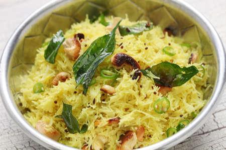 vermicelli: lemon sevai, lemon idiyappam, south indian breakfast cuisine