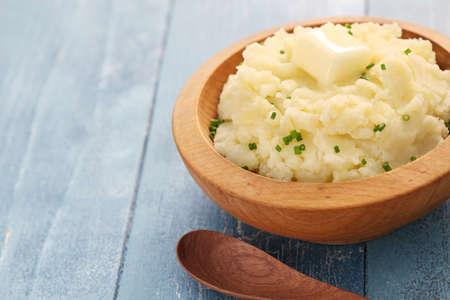 pure de papas: mashed potatoes with melting butter