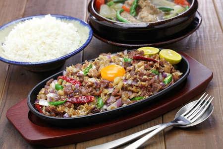 sisig、そう、フィリピン料理
