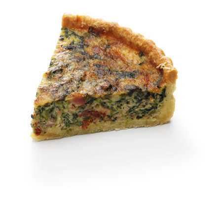 homemade spinach bacon quiche florentine quiche, french food