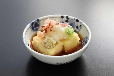 agedashi tofu, japanese food
