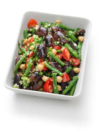 green bean: three bean salad