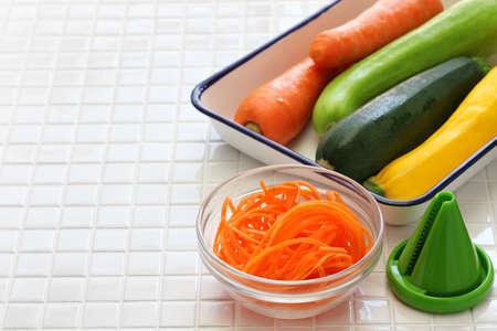 healthy diet vegetable noodles salad, vegetarian food